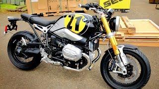 6. 2018 BMW RnineT Vintage!! • Test Ride and Impressions! | BikeReviews
