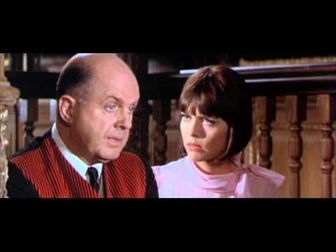 Fitzwilly 1967 - John McGiver Getting Caught Red Handed By Barbara Feldon