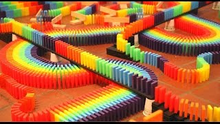 Video 30,000 Dominoes! (BMAC 10 Falldown) MP3, 3GP, MP4, WEBM, AVI, FLV September 2018