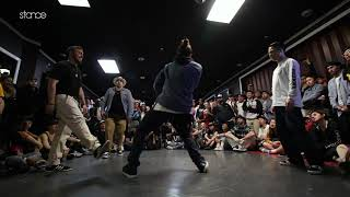 J Smooth & Inox vs D-Soul & Fishboy – FREESTYLE SESSION 2018 POPPING TOP16