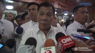 Duterte calls on China to let Pinoys fish in West Philippine Sea