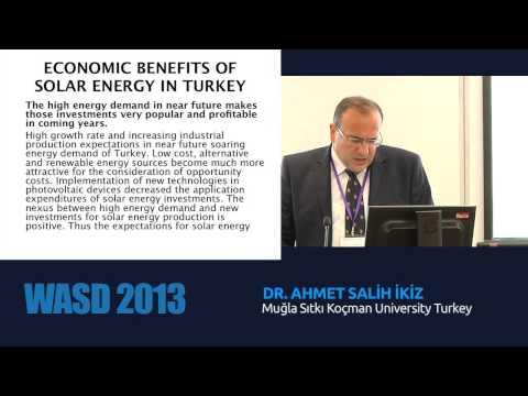 Economic benefits of solar energy for Turkey