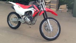 3. Honda crf125f review and start up