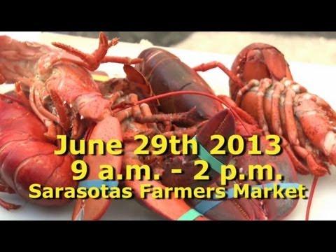 Sarasota Farmers Market: Shrimp & Lobster Festival, June 29th 2013