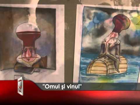 """""""Omul și vinul"""" – SALON DE CARICATURA"""
