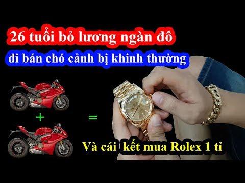 Chàng trai 26 tuổi bỏ việc ngàn đô đi bán chó cảnh bị khinh thường và cái kết mua Rolex 1 tỉ - Thời lượng: 33 phút.