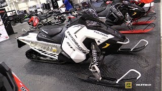 4. 2018 Polaris Switchback SP 600 Sled Review - Walkaround - 2017 Toronto Snowmobile Show