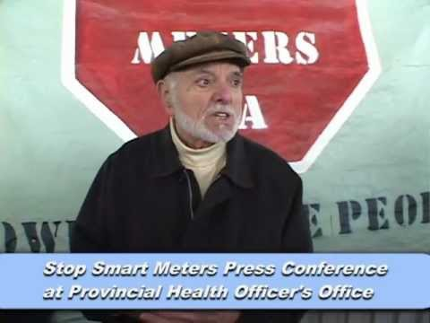 Stop Smart Meters: Canadian Activists Take Studies to Health Officer