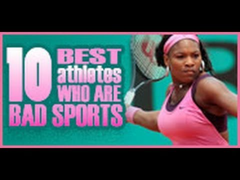 10 Best Athletes Who Are Bad Sports