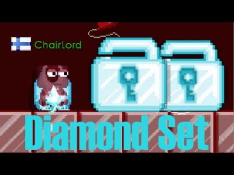 [Growtopia] FULL DIAMOND SET!!!