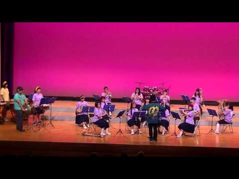 第47回伊都地方吹奏楽祭  笠田中学校吹奏楽部 「セサミストリート テーマ」他