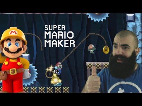 Super Creative Setups   PACO vs HaeFly [III]   Mario Maker Super Expert Levels (видео)