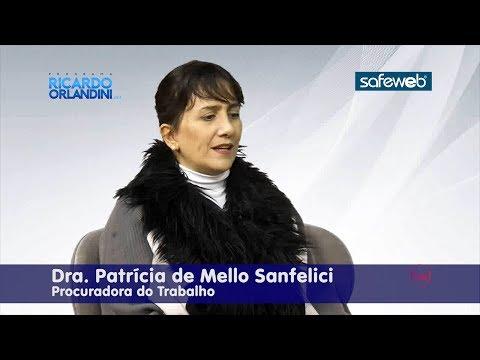 Ricardo Orlandini entrevista a Coordenadora Nacional da Cordinfância, Dra. Patrícia de Mello Sanfelici, Procuradora do Ministério Público do Trabalho da 4ª Região.