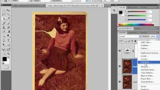 How to restore a damaged photograph in Photoshop CS4 - Part 1