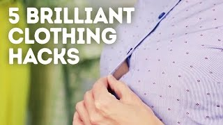 5 genius fashion hacks that will change your life l 5-MINUTE CRAFTS