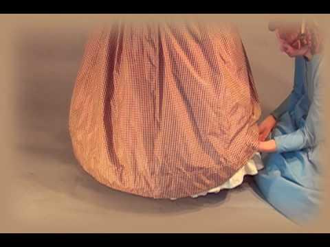 A Lady's Toilette: 1860s