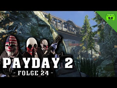 PayDay 2 # 24 - Der Zugüberfall «» Let's Play Together PayDay 2 COOP | HD