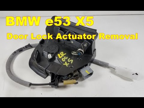 Replace rear door lock actuator bmw e36 autos post for 1992 bmw 325i power window problems