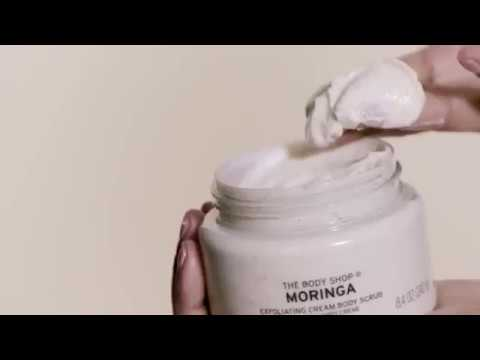 How To Use – Moringa Exfoliating Cream Body Scrub