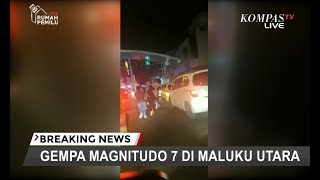 Video [TERBARU] Gempa Magnitudo 7 di Maluku Utara, BMKG: 2 Kabupaten Waspada Tsunami MP3, 3GP, MP4, WEBM, AVI, FLV Juli 2019
