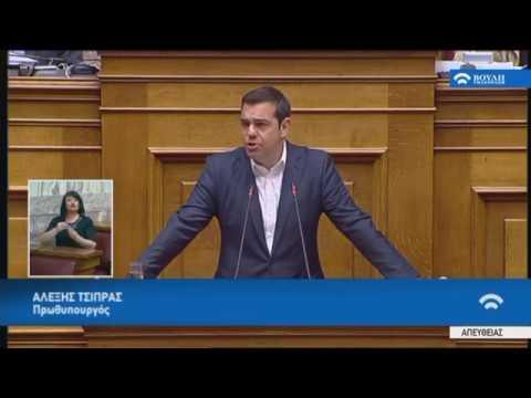Α.Τσίπρας(Πρωθυπουργός)( Περιεχόμενο των κρίσιμων συζητήσεων Κυβέρνησης-Δανειστών)(23/05/2018)