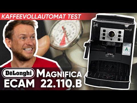 Delonghi Kaffeevollautomat ECAM 22.110 Testbericht