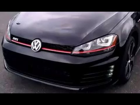 volkswagen golf gti - test drive