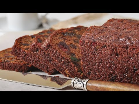 Easy Fruit Cake Recipe Demonstration – Joyofbaking.com