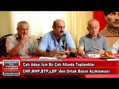 Chp de toplu basın açıklaması
