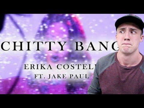 Erika Costell, Jake Paul - CHITTY BANG (Lyric Video) REACTION