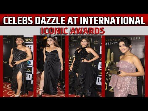 Celebs dazzle at International Iconic Awards