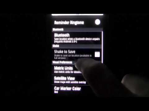 Video of Car Locator Bluetooth Plugin