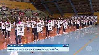 Lençóis Paulista sedia abertura da Copa Record pela região de Bauru