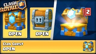 "Video OPENING ""10 OUT OF 10"" CLAN CHEST!! Clash Royale EPIC 2V2 BATTLES AND GIANT CHEST OPENING! MP3, 3GP, MP4, WEBM, AVI, FLV Juni 2017"