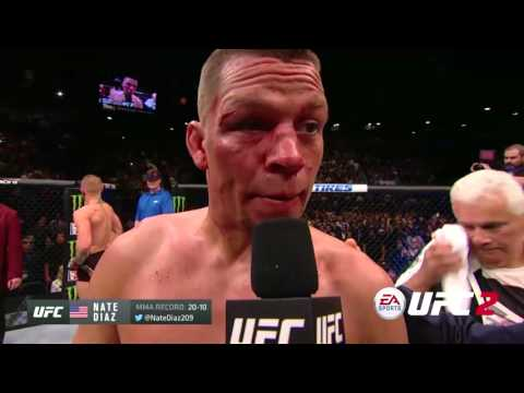 An Interview With This Powerful UFC 196 Fighter, Listen To His Reaction (VIDEO)