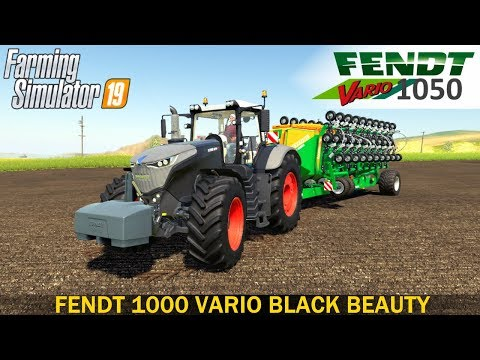 Fendt 1000 Vario Black Beauty v1.0.0