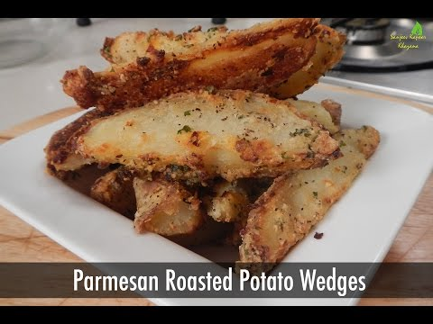Parmesan Roasted Potato Wedges 29 July 2014 04 AM