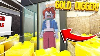 Trapping A GOLD DIGGER In My RICH ONLY Money Factory.. (Roblox)