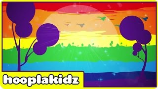 Hoopla Kidz - Rainbow Colors Song