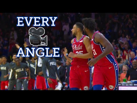 Ben Simmons' first 3-pointer from every angle   76ers Highlights   NBC Sports Philadelphia