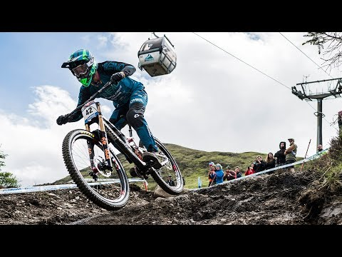 downhill world cup #2 fort william - greg minnaar winning run