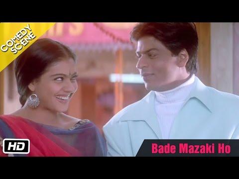 Video Bade Mazaki Ho - Comedy Scene - Kabhi Khushi Kabhie Gham - Kajol, Shahrukh Khan download in MP3, 3GP, MP4, WEBM, AVI, FLV January 2017
