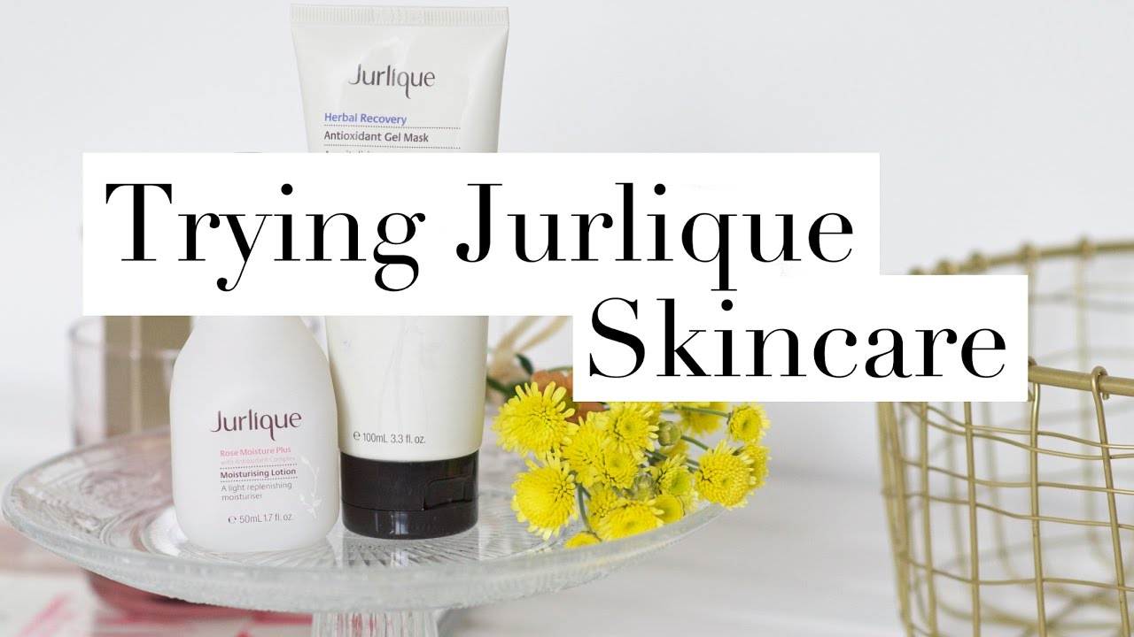 TRYING JURLIQUE SKINCARE | Made From Beauty