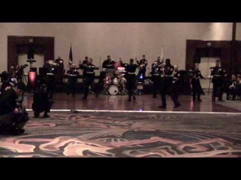 US Marine Corp. Band covers Macklemore