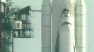 First Shuttle launch Columbia 1981