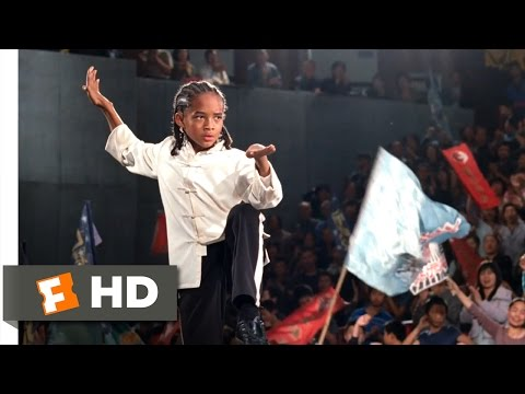 The Karate Kid (2010) - Dre's Victory Scene (10/10) | Movieclips