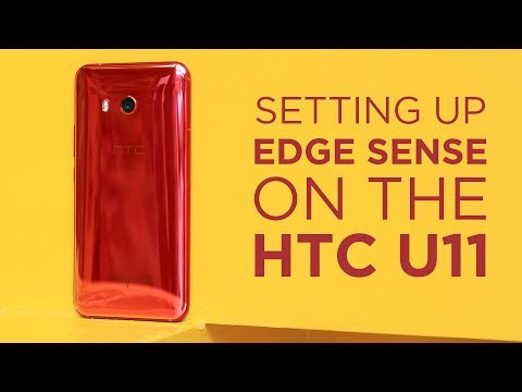HTC U11 - konfiguracja Edge Sense