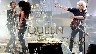 Queen + Adam Lambert&Lady Gaga - Another One Bites The Dust In Sydney Day 2 (27/08/2014)