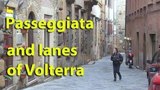 Volterra Italy  city photos : Volterra, Tuscany Italy part 3 passeggiata