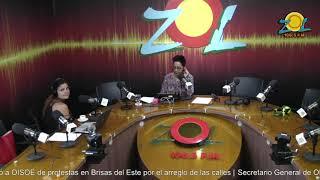 Zoila Luna comenta hay que prepararse por posible paso del Huracán María por el país